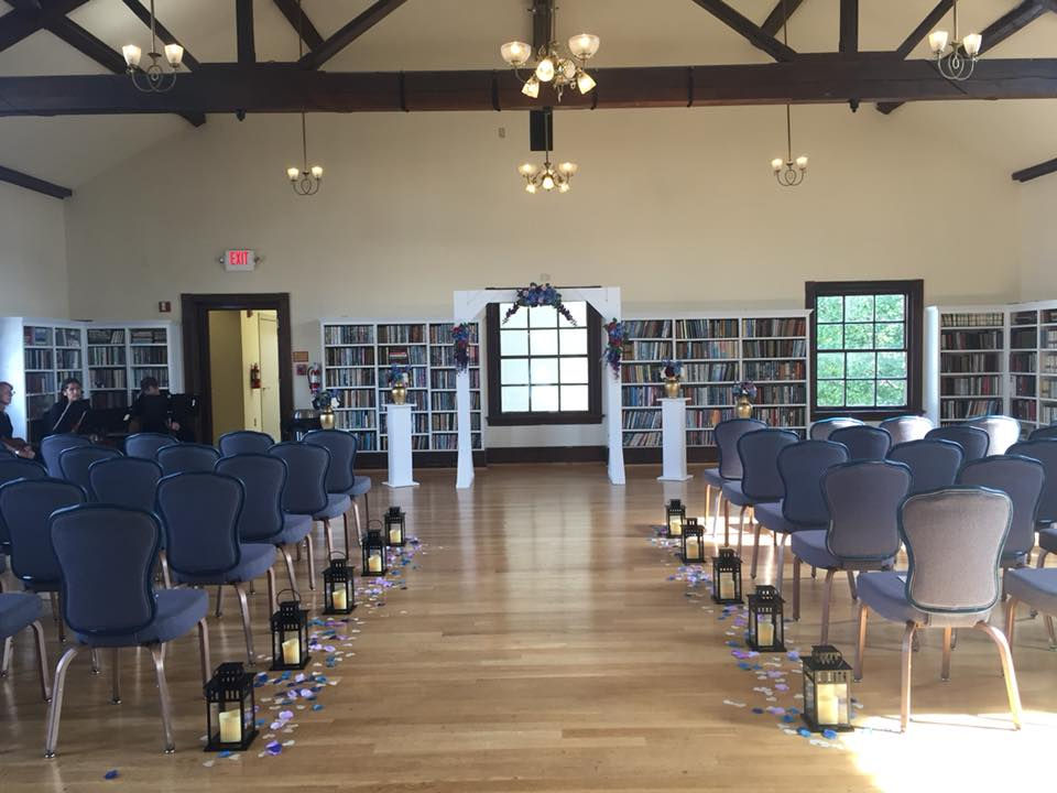 Library Wedding